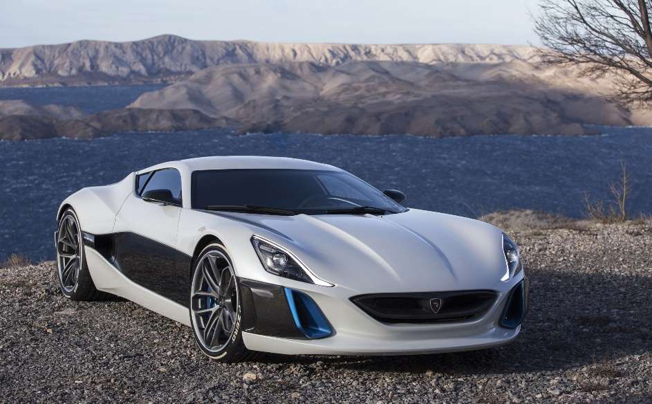 Muscle Car Collection Rimac Concept One The Fastest Electric In World