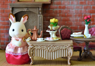 Sylvanian Families tea time, nursery rhyme