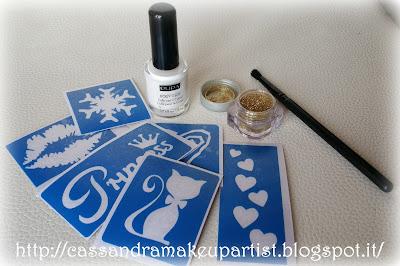 Glitter Tattoo - tutorial - brillantini - porporina - sparkling - tatuaggio - farfalla - butterfly - pupa milano