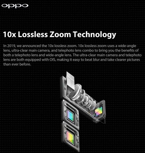 OPPO 10X Hybrid Zoom Smartphone Imaging Tech