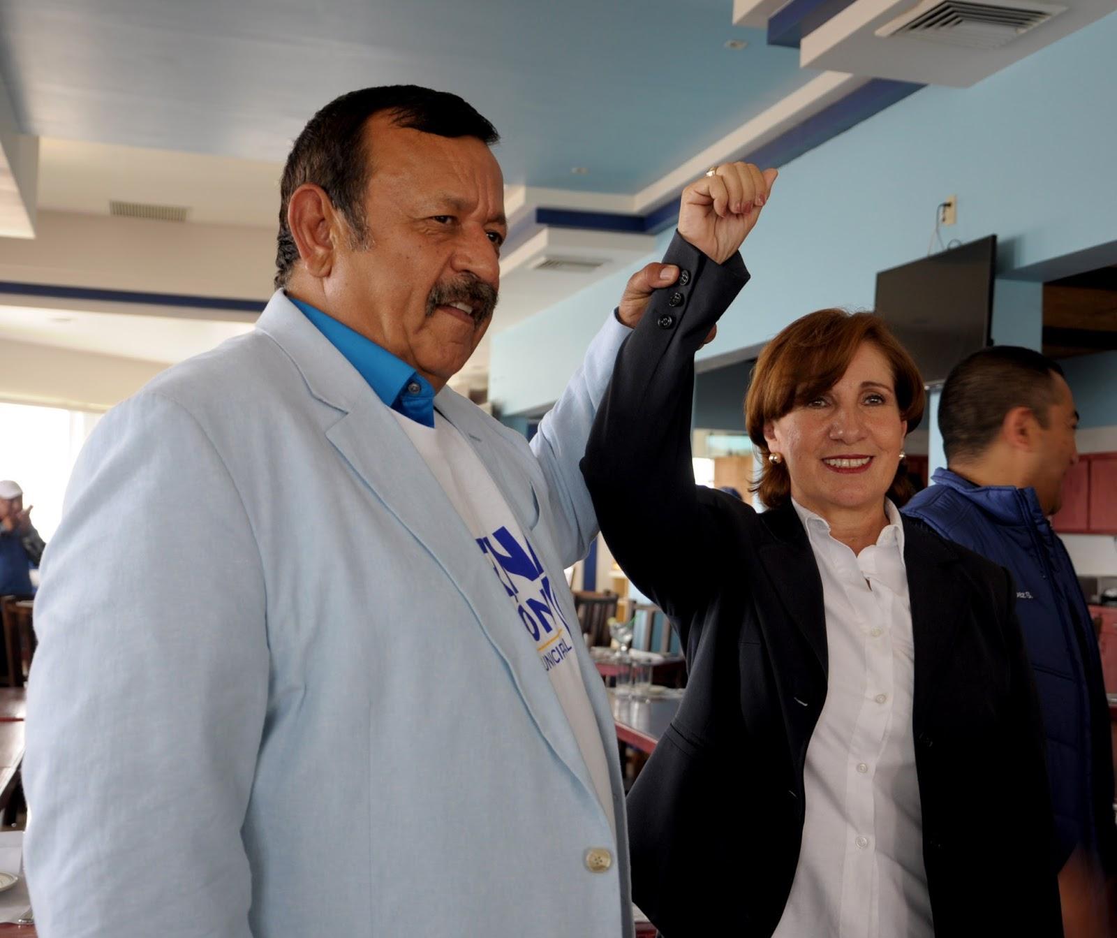 Rosarito en la noticia candidato del partido for Ta 2s 0138