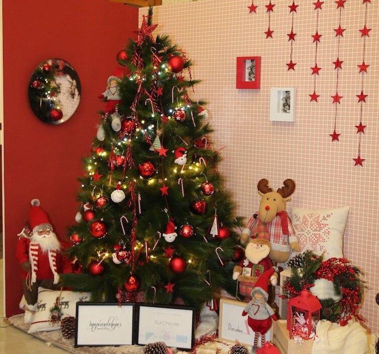árbol decorado  por Rut Chicote y Una Pizca de Hogar