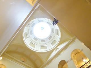 stunning ceiling window in stobo