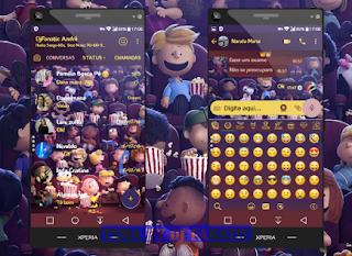 Watching Movie Theme For YOWhatsApp & Fouad WhatsApp By DJ