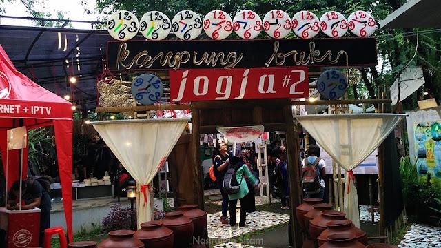 Gerbang Kampung Buku Jogja #2
