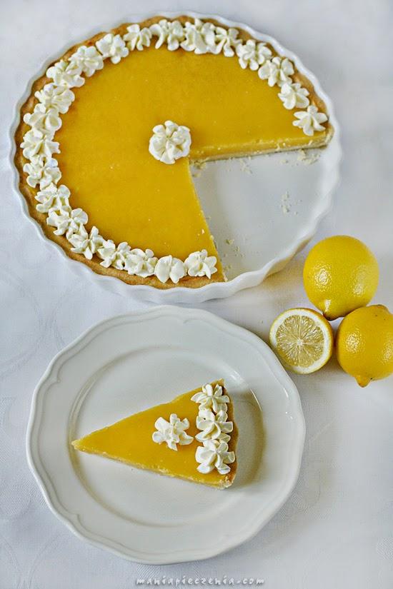 Tarta cytrynowa - Lemon curd tart
