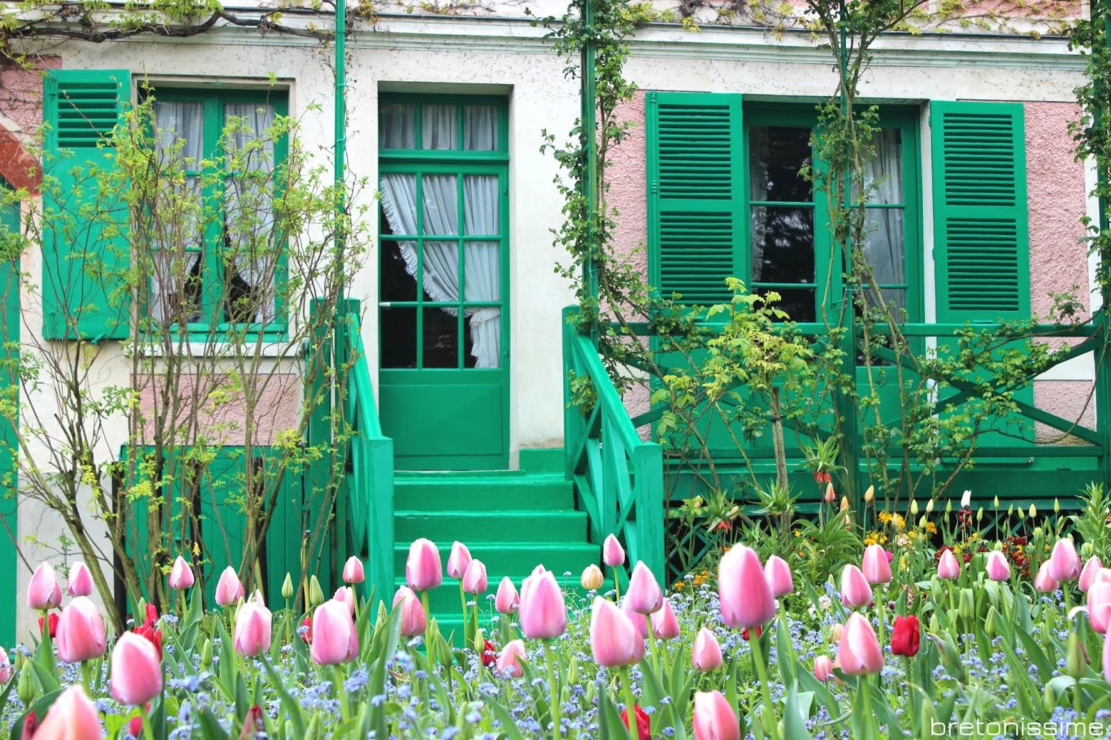 Giverny, dom Moneta