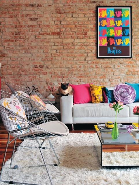 como combinar almofadas decoração