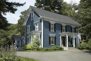 Warna Cat Rumah Minimalis Biru Yang Bagus The Greyish Blue