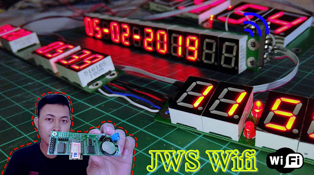 Tutorial Merakit JWS (Jam Waktu Shalat) Seven Segment Wifi