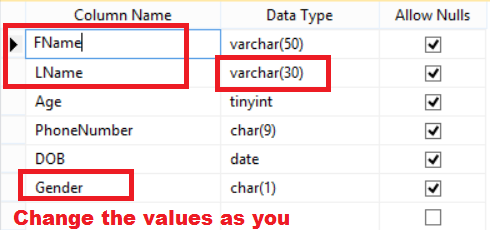 Welcome to techbrothersit how to alter columns or - Alter table sql server example ...