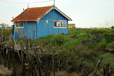 Les anciennes petites maisons des ostréiculteurs oléronais
