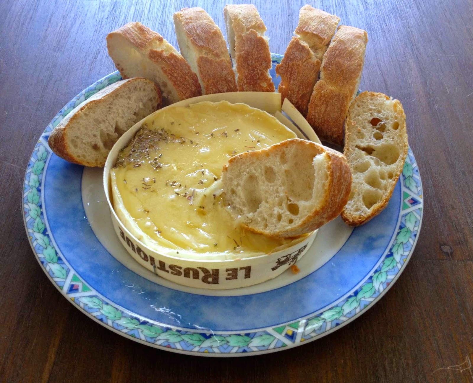 Camembert kaasfondue