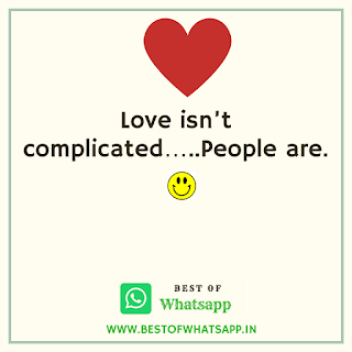 Love Whatsapp Quotes Status