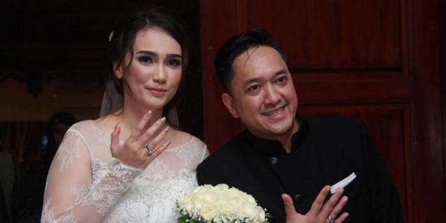Feby Febiola dan Franky Sihombing Resmi Menikah