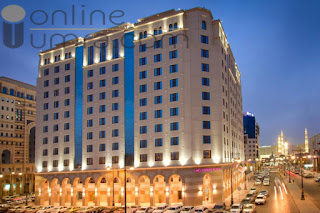 Crowne Plaza Hotel in Madinah