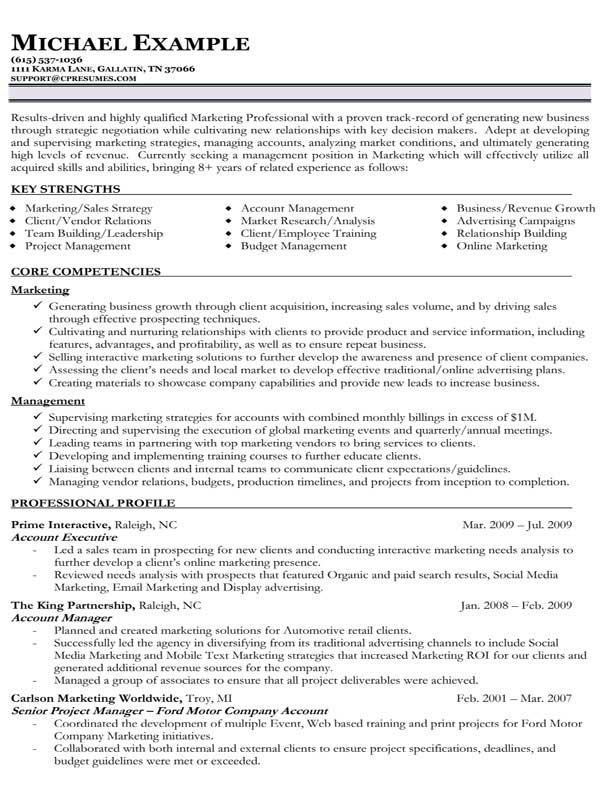 functional resumes sample