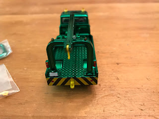 Tomica Limited Vintage Green Chrome Nissan  Wrecker Truck giveaway