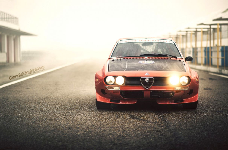Alfa Romeo Giulia 1750 Gtam 1970 Retro Oldschool Racecar Hd