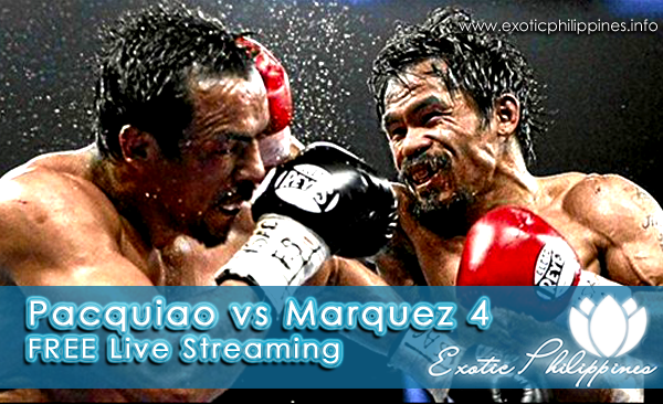 Pacquiao vs Marquez 4 Live Streaming