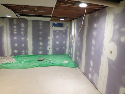& Basement 3: Paint Door Trim + Access Panel
