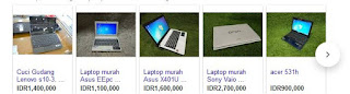 Harga Laptop Bekas Murah