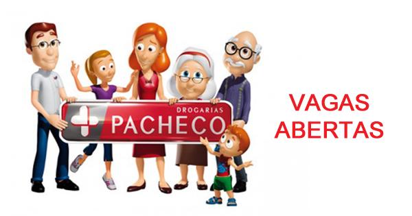Drogarias Pacheco Vagas