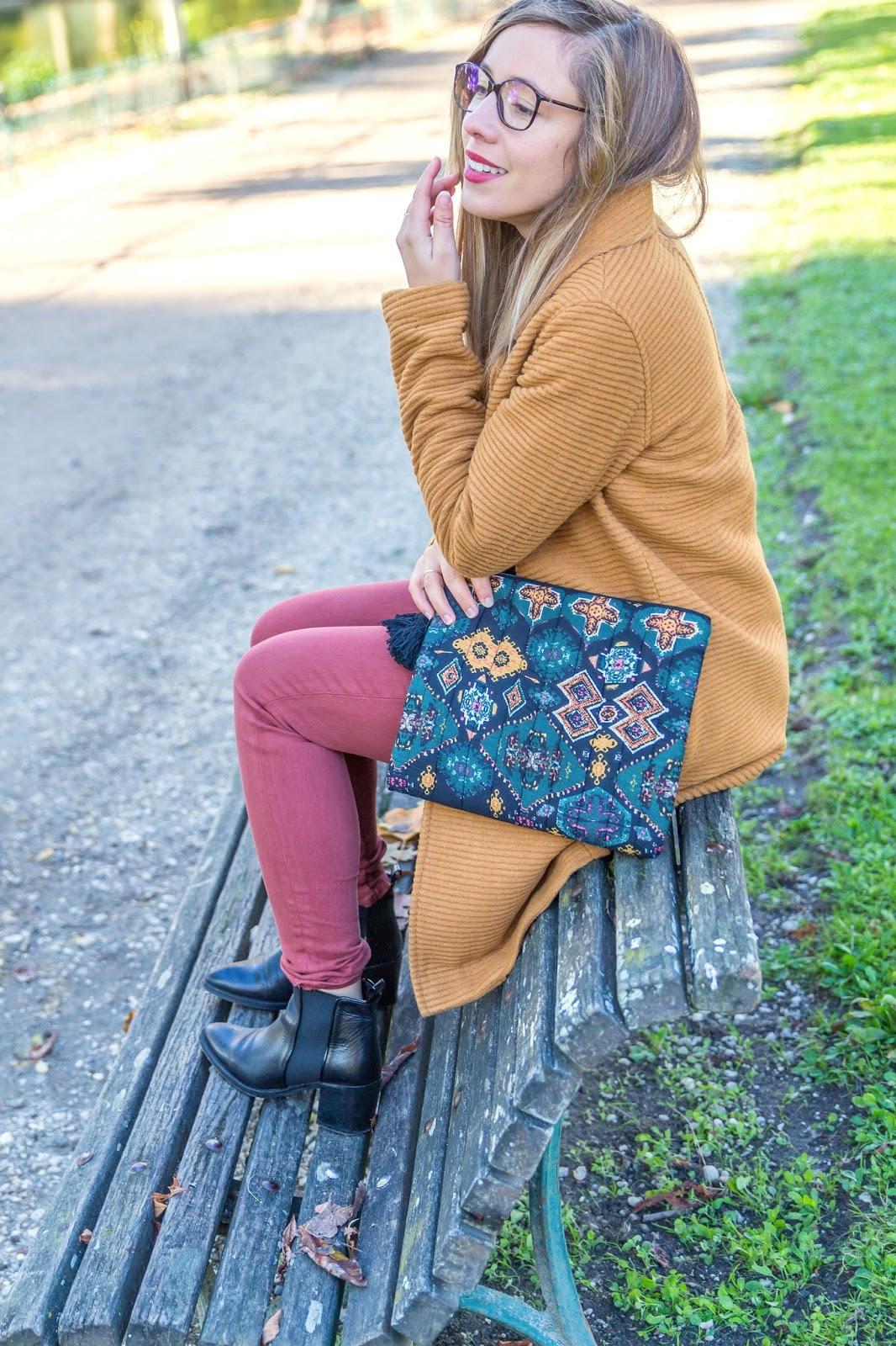 Blogueuse mode tenue automne