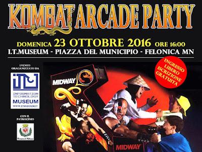 Kombat Arcade Party - Torneo di Mortal Kombat 1 (1992).