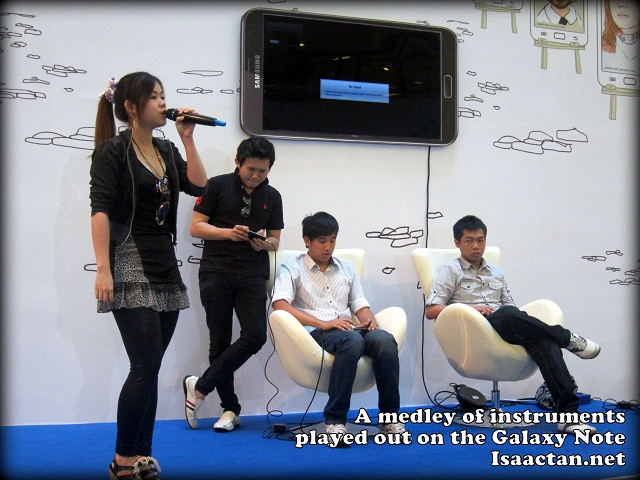 Samsung Galaxy Note Studio Roadshow 1Utama