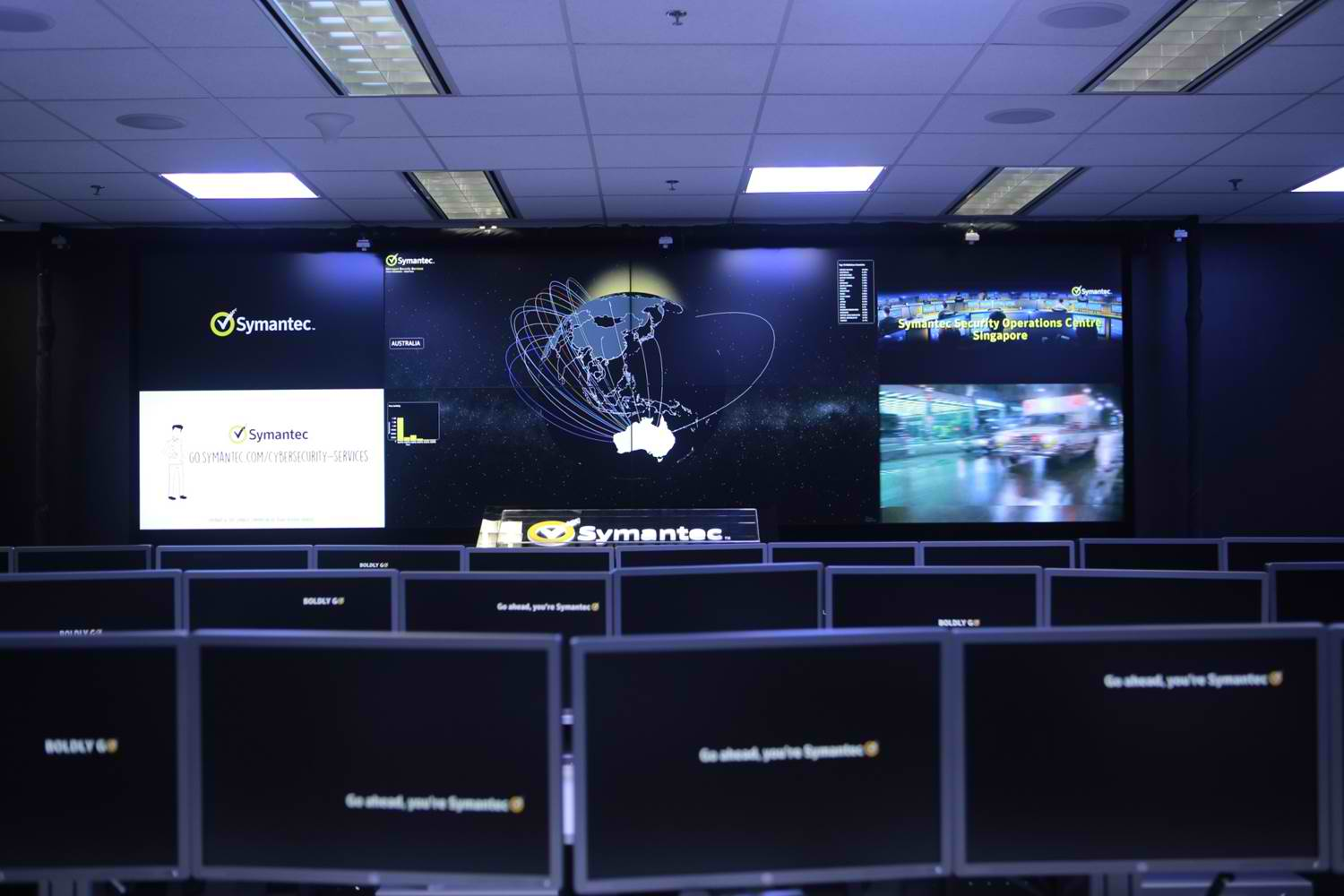 Symantec Global Security Operations Centers