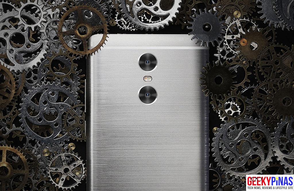 Xiaomi Redmi Pro dual cameras