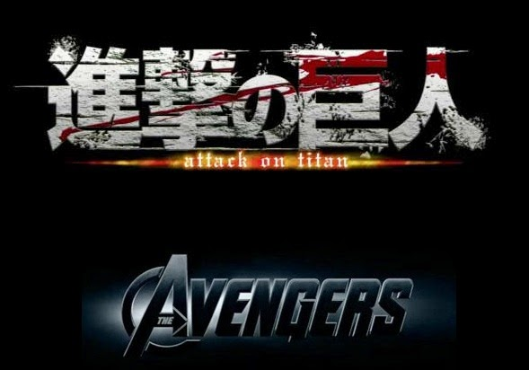 avengers vs attack on titan