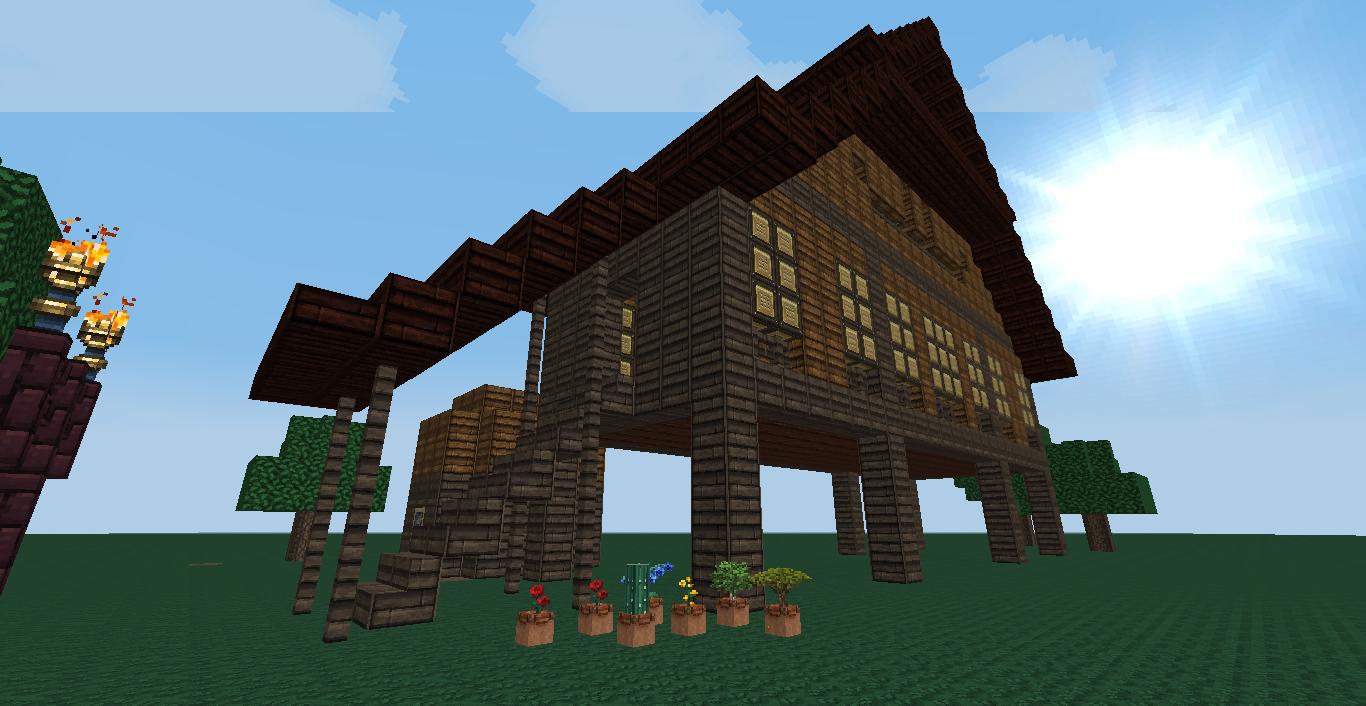 Minecraft Your World: Stilt House