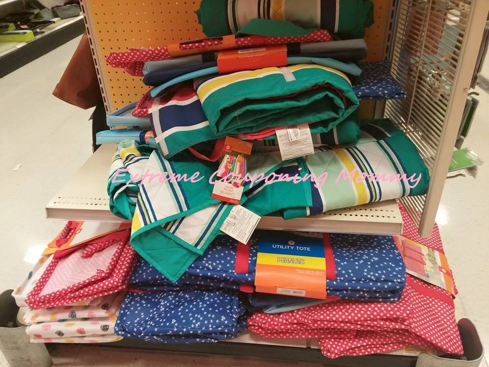 Rainbow Stripe Wide Picnic Blanket Extreme Couponing Mommy Target Summer Clearance 70 Off