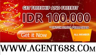 FREECHIP 100 K | FREEBET | SPORT & KASINO | AGENT688