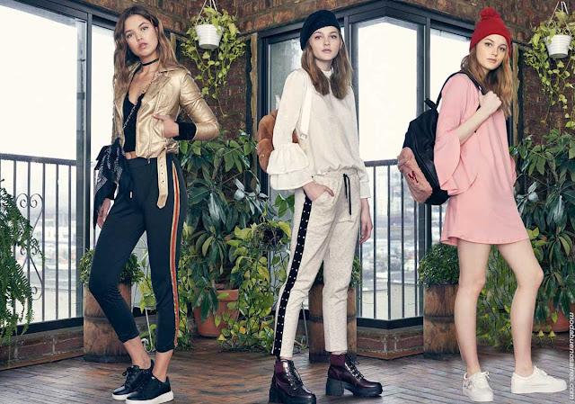 Moda otoño invierno 2018: Ropa de moda invierno 2018 juvenil. | Vestidos, blusas, pantalones otoño invierno 2018.