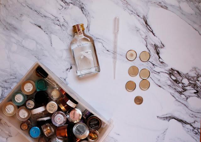 Jak zrobić prasowany pigment?