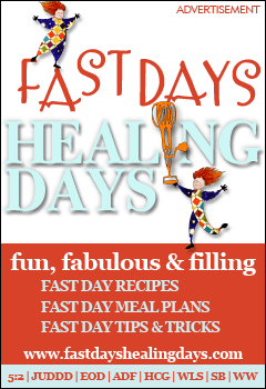 Visit Fast Days Healing Days Today!