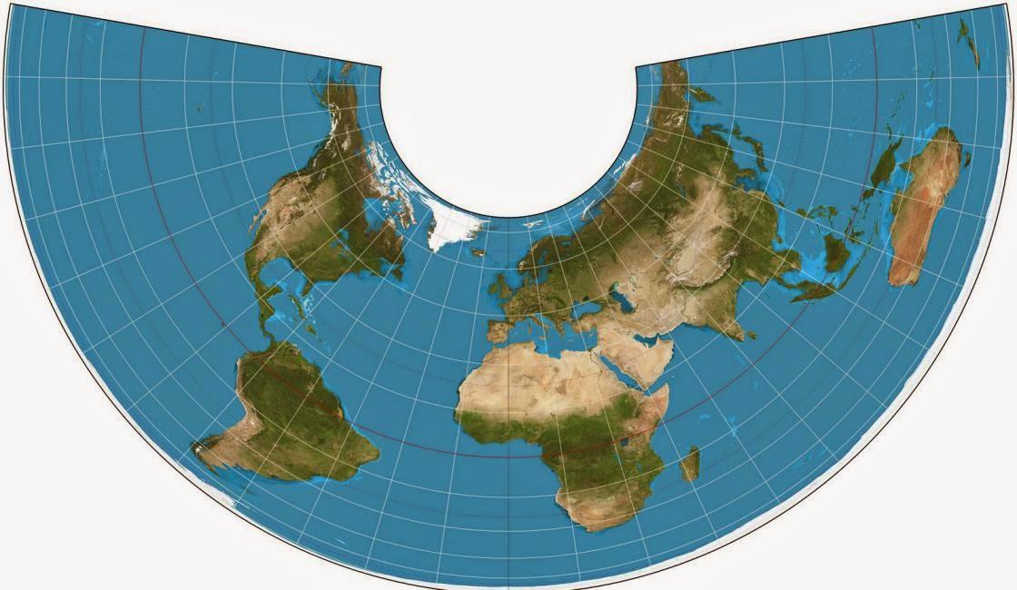 Proyecciones geograficas en geologia