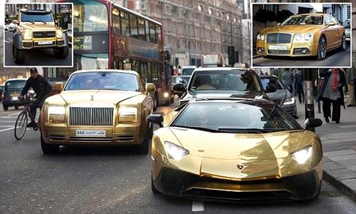 Saudi Arabian Billionaire Drives Around London In Fleet Of