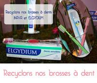 Recyclons nos brosses à dent Inava et Elgydium
