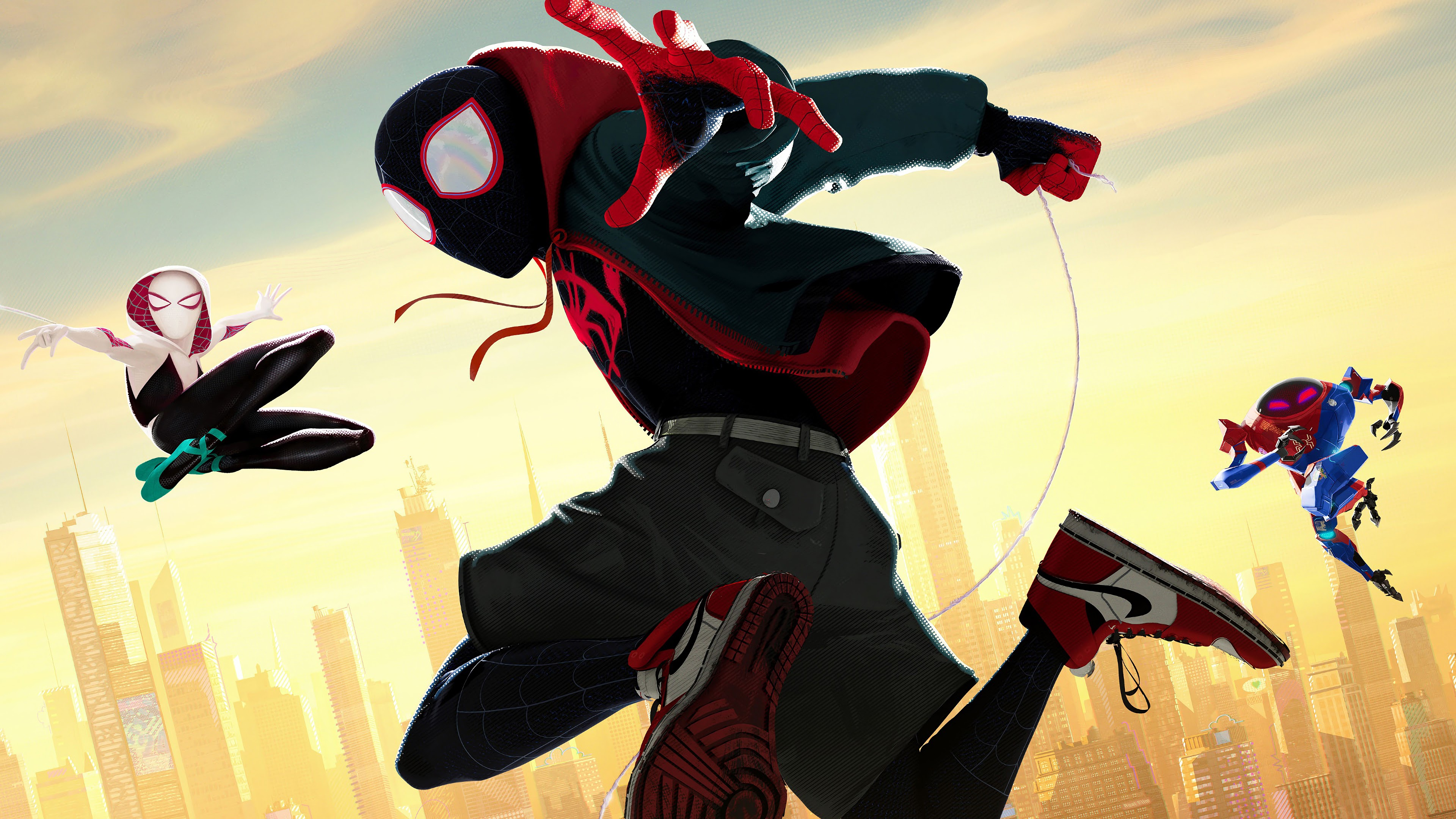 Spiderman Wallpaper Hd Android Miles Morales Spider Man Into The Spider Verse 4k