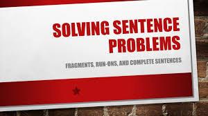 Correcting a sentence online