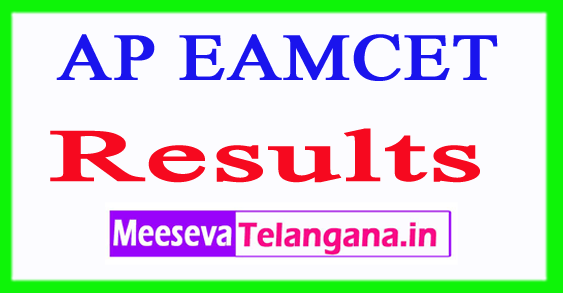 AP EAMCET Results 2019 Engineering Medical Marks Rank Card