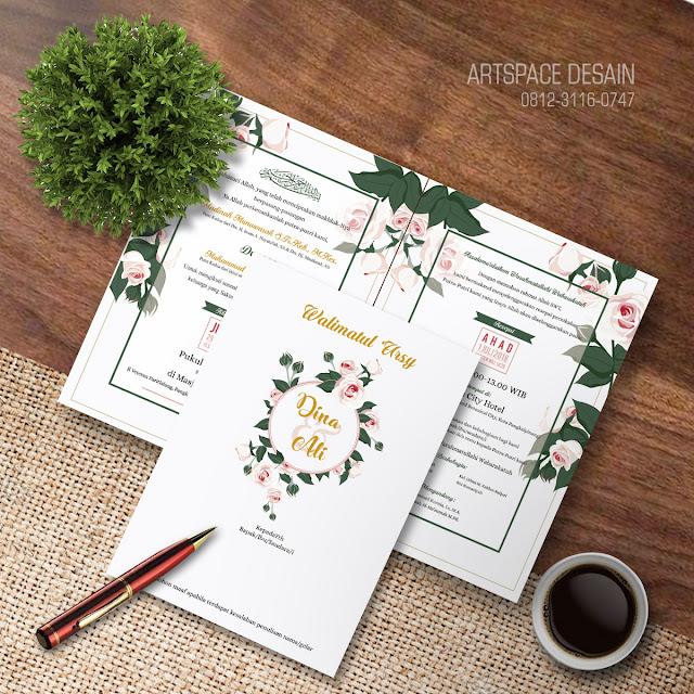 Download Template Undangan Floral Watercolor Corel Corner