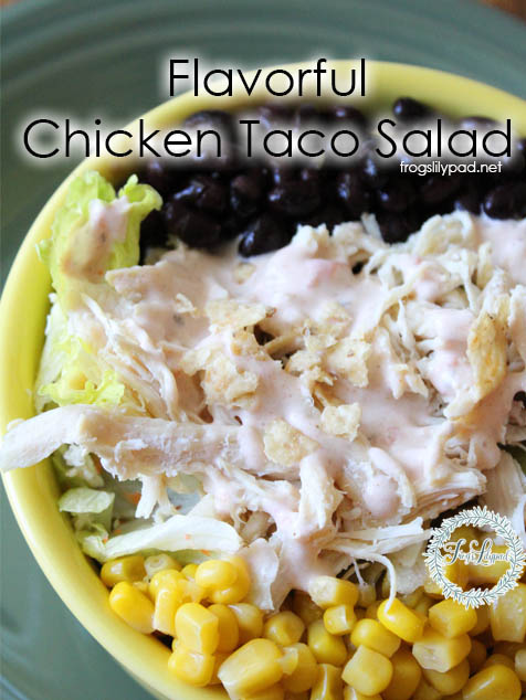 Flavorful Chicken Taco Salad