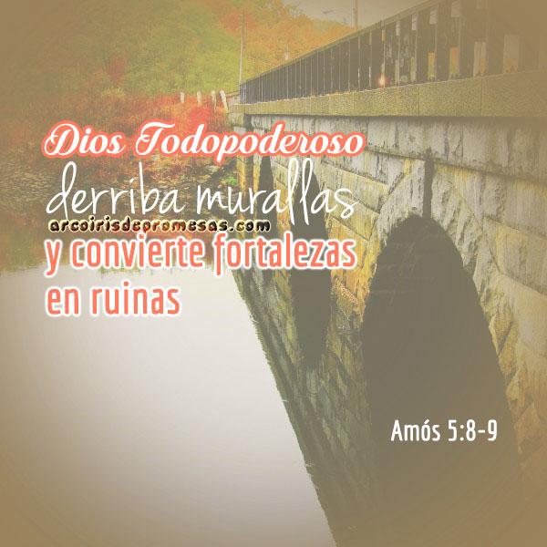 dios derriba los obstáculos mensajes de aliento con imágenes arcoiris de promesas