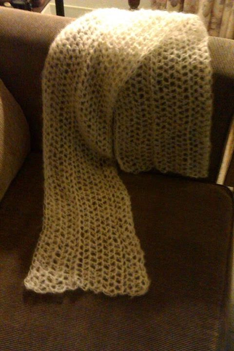 Get Knotted Yarn Craft Soft As A Hug Mohair Baby Wrap