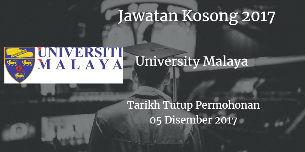 Jawatan Kosong UM 05 Disember 2017